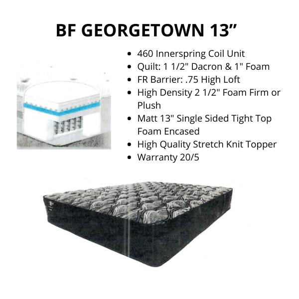 "BF GEORGETOWN 13"""