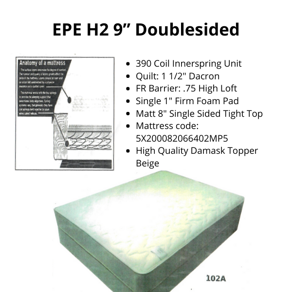"""EPE H2 9"""" Doublesided"""