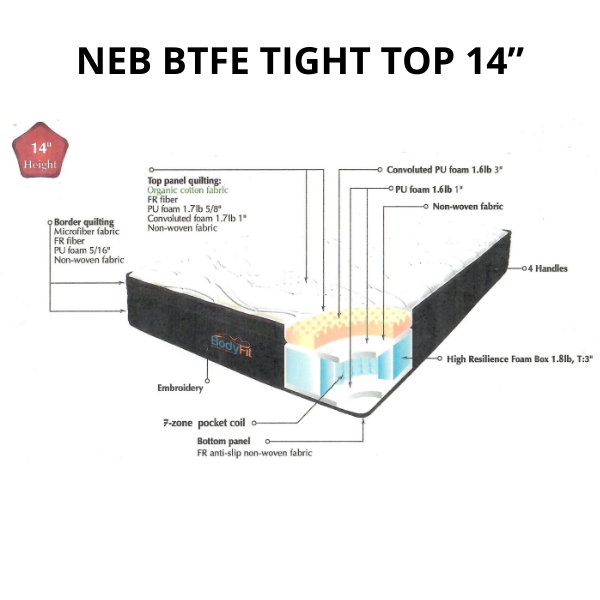 "NEB BTFE TIGHT TOP 14"""