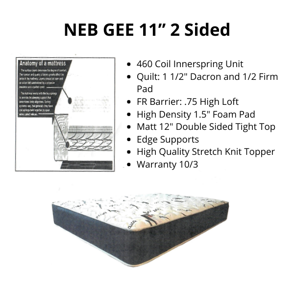 """NEB GEE 11"""" 2 Sided"""