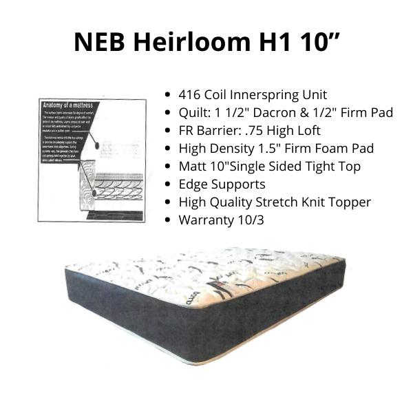 """NEB Heirloom H1 10"""""""